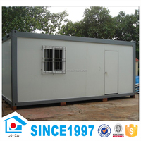 China 20ft low cost prefab shipping container house office/20ft living container home for sale