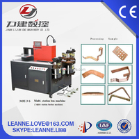 Alumium copper Hydraulic Bus bar Cutting Punching Bending Machine