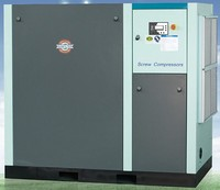 185KW oil injected single stage screw oil free air compressor