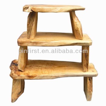 High qualith handmade Root Wooden Bench