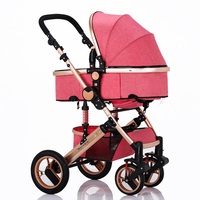 aluminum alloy,newest comfortable baby carriage/pram/baby carrier/stroller/pushchair