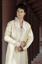 Off White Kurta designs for men