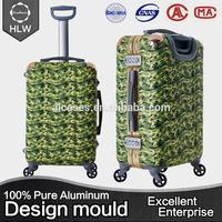 HLW fashionable own style trolley handle spare parts for luggage bag
