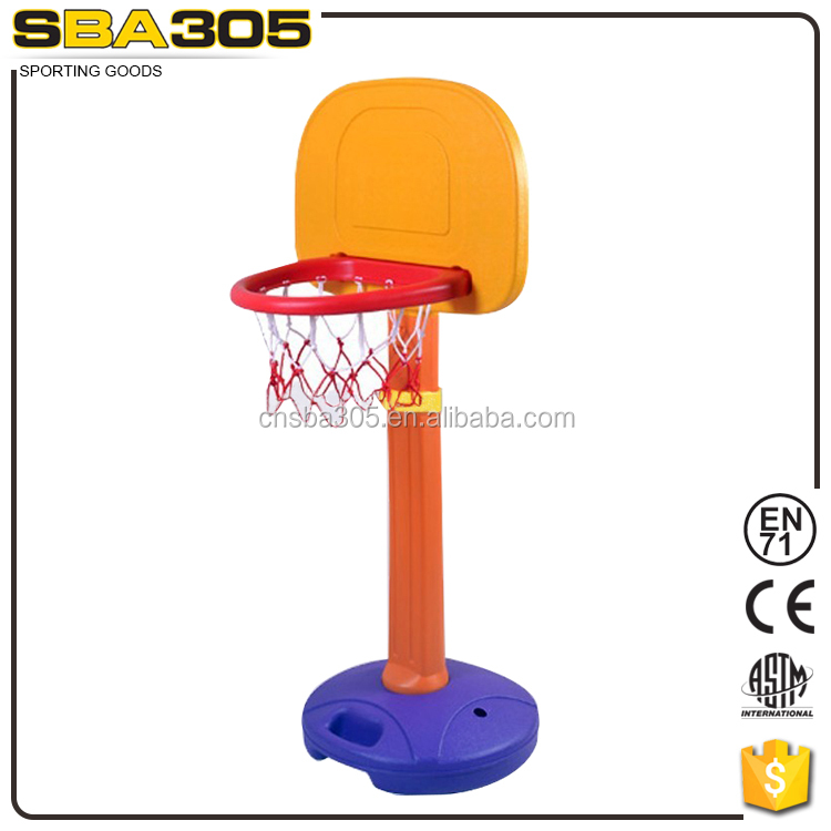 mini kids plastic basketball hoop set