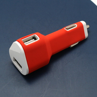 usb car charger 2 port for mobile phone charging