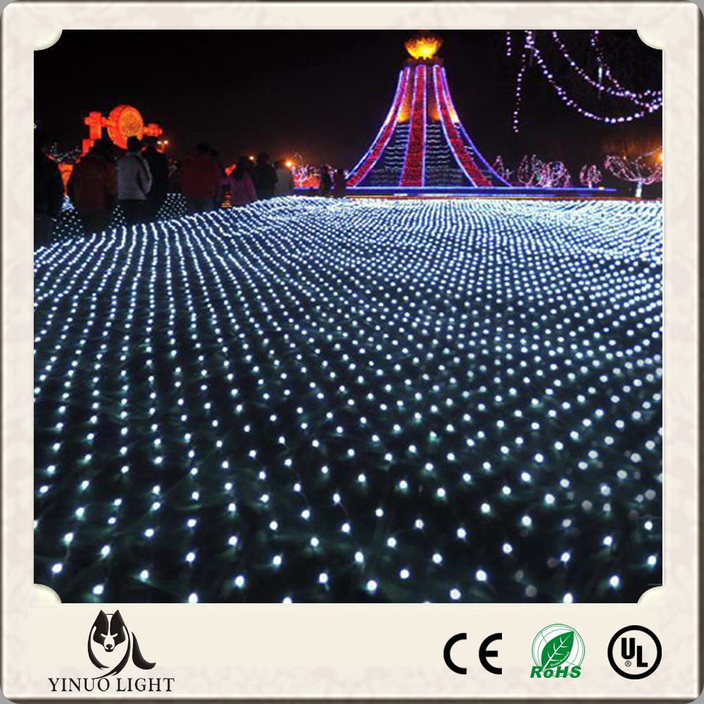 LED Net Mesh Christmas Decoration Fairy Lights 4*6m672leds net light