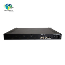 Full HD 8 channels HD MI input to IP/ASI h.264 encoder chip with price competitive advantage