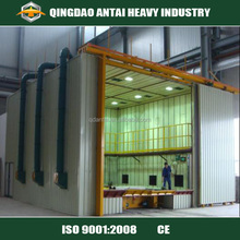 Sand Blasting Room With Automatic Recovery System Blasting Booth Product