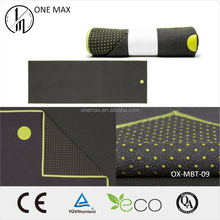 Eco-friendly Non-slip Microfiber Fabrics Yoga Towel with Silicone Dots