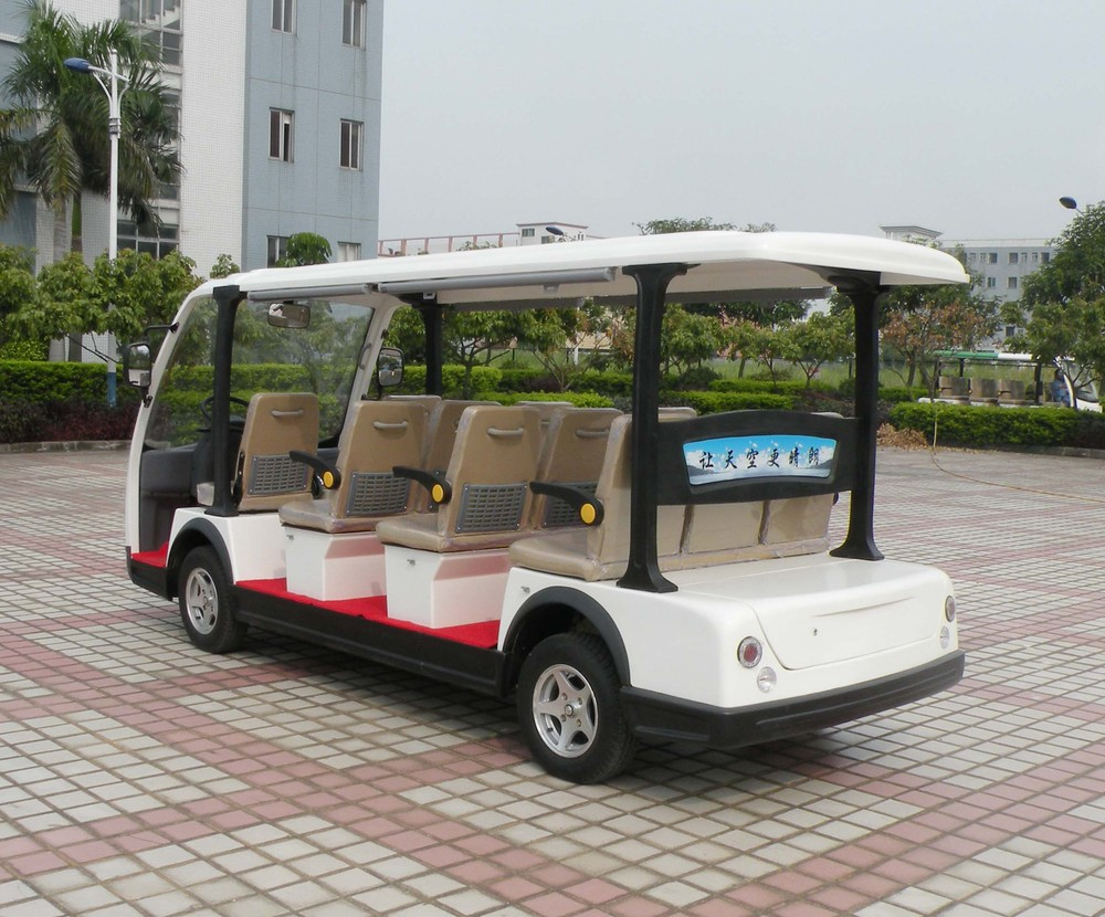 China excellent quality powerful passenger mini bus electric tourist car
