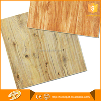600x600mm non slip ceramic wood tiles made in china