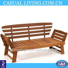 Double-Person Wooden Chair Wooden Outdoor/Indoor Bench