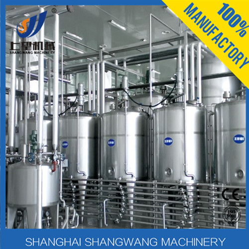 Milk processing machine/Small milk processing plant/Different capacity goat milk processing plant