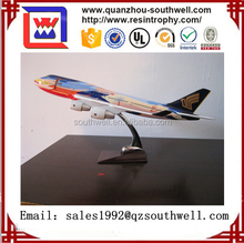 Airbus big size passenger plane model,resin airplane model,polyresin model airplane