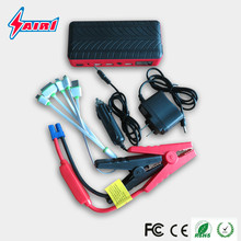 12V multifunction emergency powerful mini auto jump starter lipo car battery