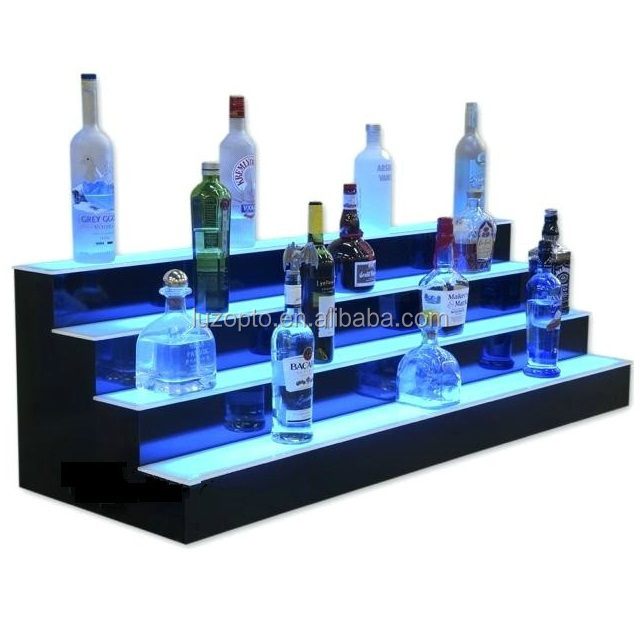 wholesale acrylic flat led light sheet led guide plate lgp led bottle shelf