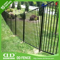 Metal Fencing Stakes / Cheap Iron Railings / Tube Fencing Supplies