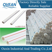 16-50mm large diameter heavy duty pvc electrical conduit pipe/pvc pipe manufacturer