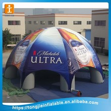 custom large outdoor inflatable tent for advertising