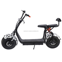 Adult's strong frame Electric Scooter City Coco Motor with lion Battery bicycle