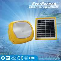 EverExceed solar panel kits for home grid system with Mobile Phone Charging Function