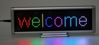 full xx video led display board /mini led display sign board,led mini display badge sign