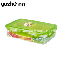 Widely Used Superior Quality plastic food container rectangular with lid