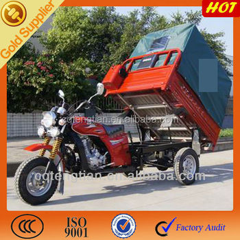 Motorzied Dump Tricycle China Chongqing