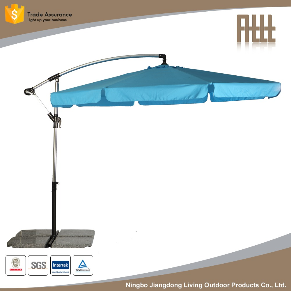 Competitive price 1.35M Frabic Customized garden parasol Aluminum Market Umbrella,Market Umbrella