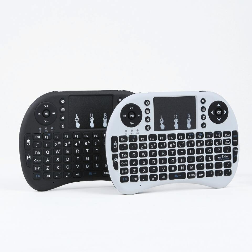 new arrival rechargeable wireless mouse and keyboard i8 pro 2.4g wireless mini keyboard mouse combo