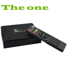 KI PLUS Support CCCAM! New K1 PLUS T2+S2 Amlogic S905 Quad core 64-bit Support DVB-T2 DVB-S2 1G/8G 1080p 4K Android 5.1 TV Box
