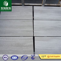 Attractive Wooden Grain white marble floor tiles price, old floor tile type white wood marble professional