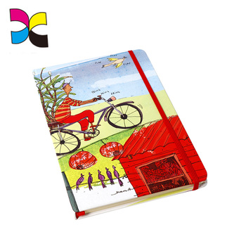 Guangzhou supplier custom diary cute pocket notebook printing service