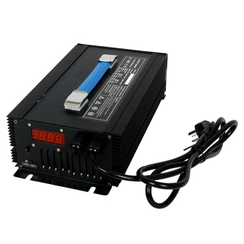 automatic 36v 18a lithium polymer battery charger for patrol car