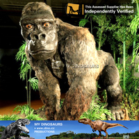 My-dino A large animal animatronic gorilla statues for sale