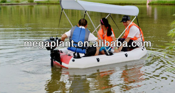 light weight aquatic amusement electric paddle boats for sale