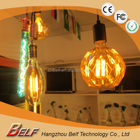 2016 Factory Hot Sale Pendant Light from China Supplier Dimmable Filament LED Bulb Vintage Diamond Edison LED Bulb E27