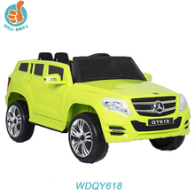 electric storage battery child car with RC, mp3 port WDQY618