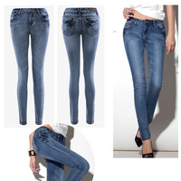 2016 new fashion ladies skinny denim jeans DS140114