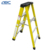 First-class unilateral with tray rack folding lidl fiberglass step ladder