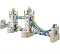 OEM.brand new design.instock .overstock Dani London Tower Bridge 3D building model toys DIY wooden jigsaw puzzle
