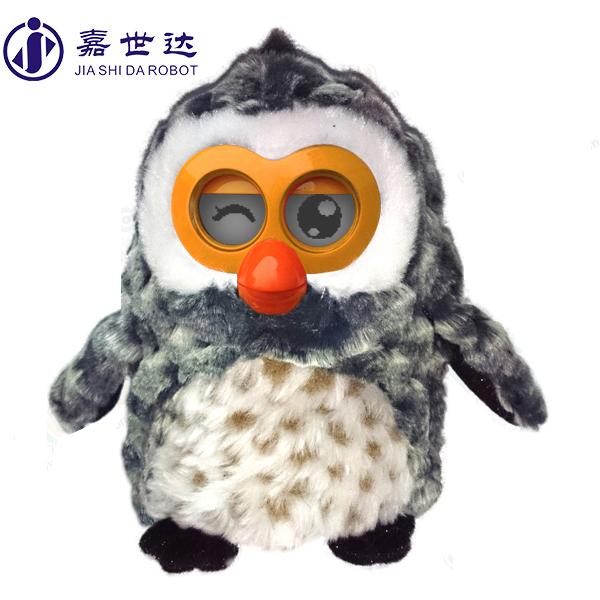 OWL shape plush toy christmas toy for 2 year old