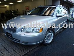 2007 Used car Volvo V70 07 final model classic/Wagon/RHD/23000km/Gas/Petrol/Silver