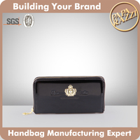 4538 New Wholesale Style wallet leather sample Women Wallet Ladies Hand Purse 2016