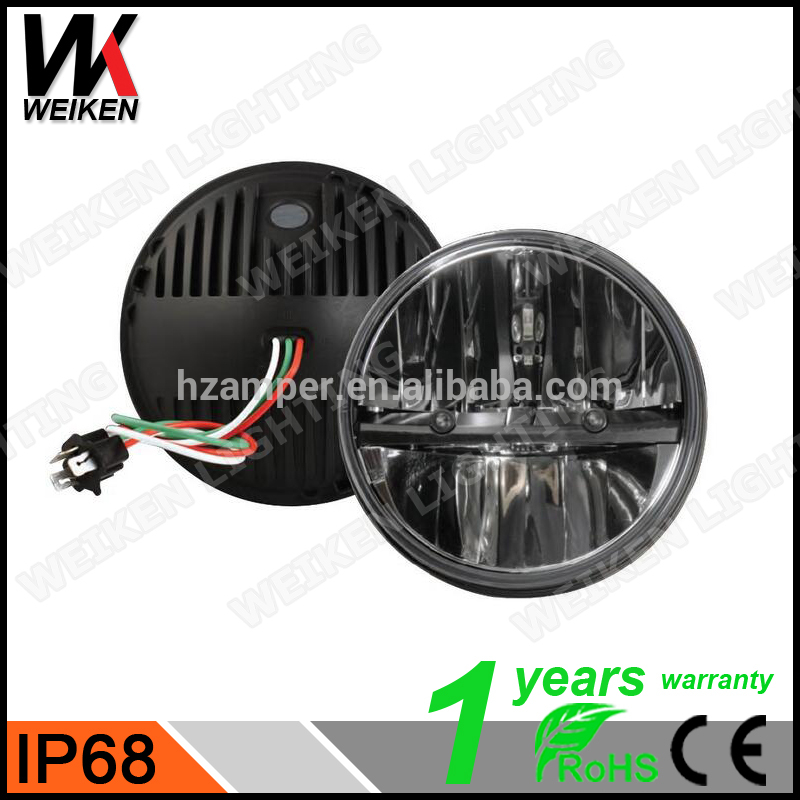 China supplier wholesale auto parts led headlight waterproof 7inch IP67 Accessories & Motor Head Lamp LED Headlight LED Fog Lig