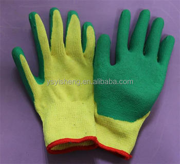 2015 Safety Products High Quality Wrinkle Latex Coated Glove with Factory Price