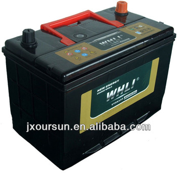 Manufacturing High Quality VRLA 12V Gel Battery for Storage N80MF 95D31MF 12V80AH WHLI