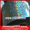 Scratch off holographic hot stamping foil
