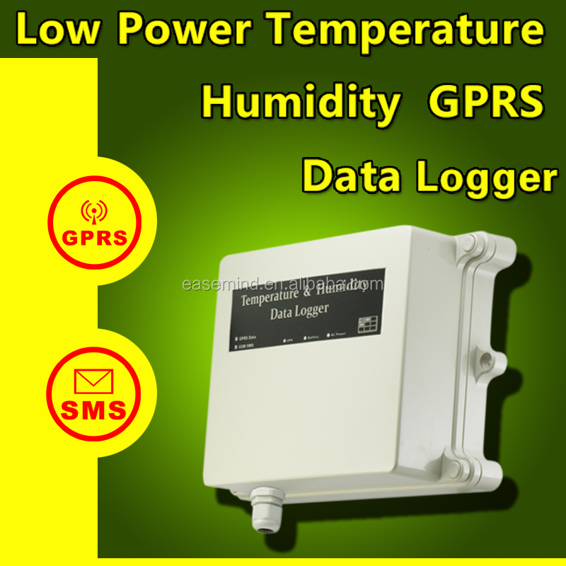 Low power temperature humidity gprs data logger remote weather sensor weather station