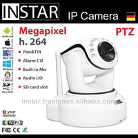 Wireless N H.264 Megapixel Surveillance IP Camera P2P connection support onvif